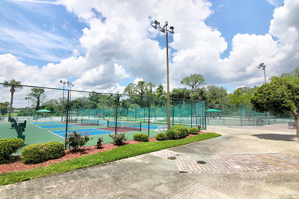 Spruce Creek tennis courts